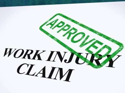 approved work injury claim