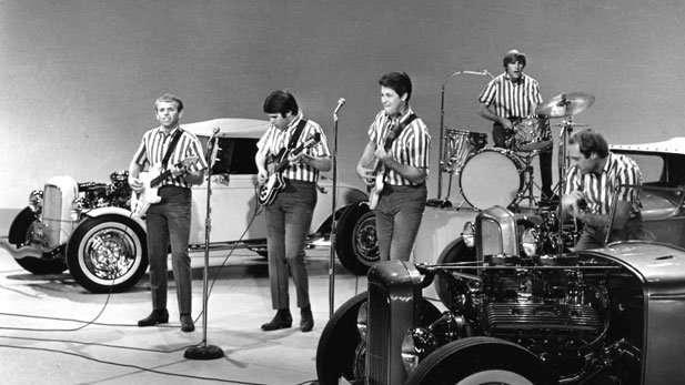 The Beach Boys on Ed Sullivan