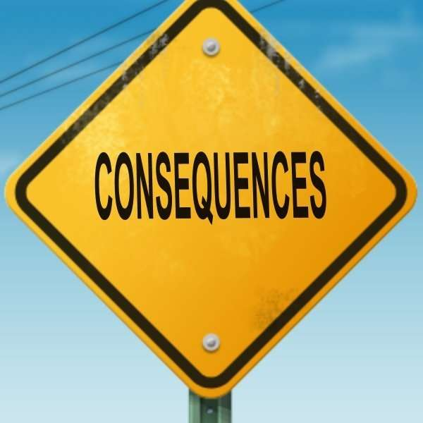 consequences diamond sign