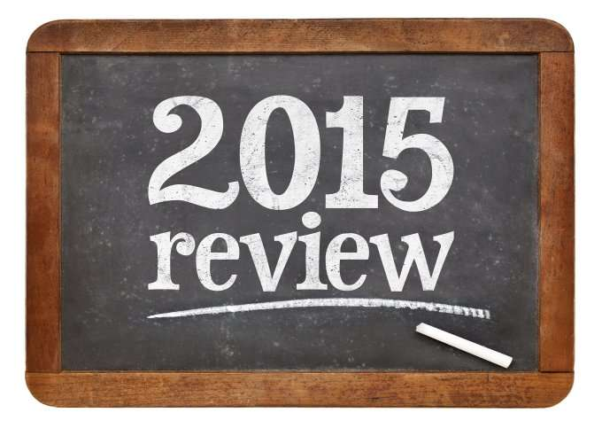 2015 Review chalkboard