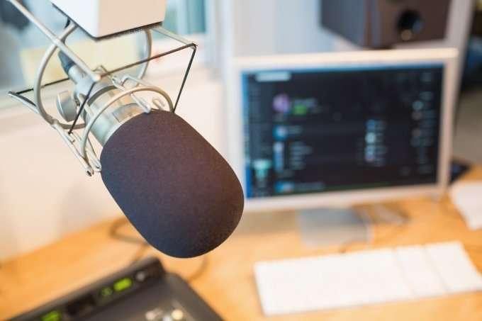 radio broadcasting microphone