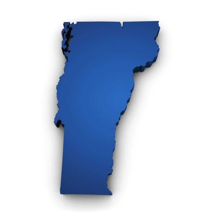 Vermont map
