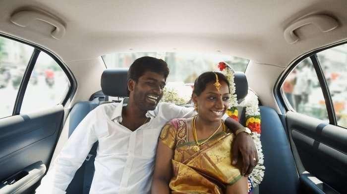 Uber India couple