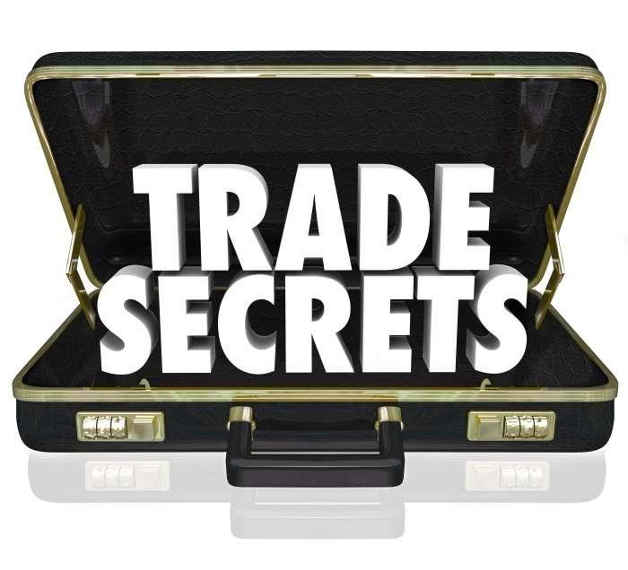 Trade secrets briefcase