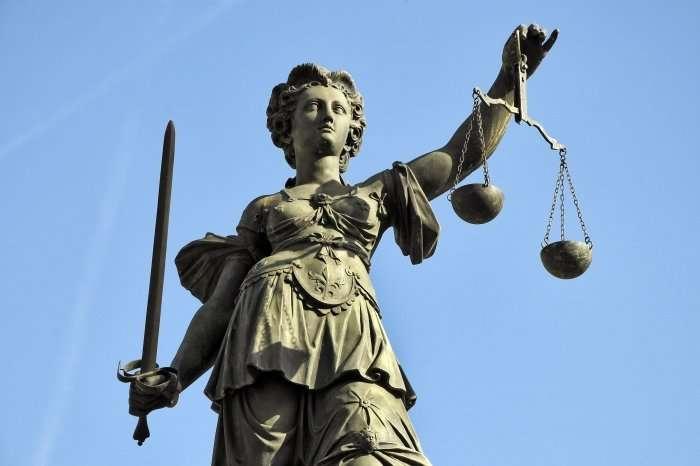 Justitia scales of justice