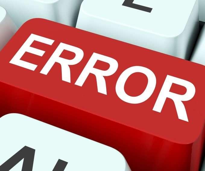 error-key