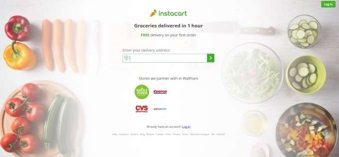 instacart-website-screenshot
