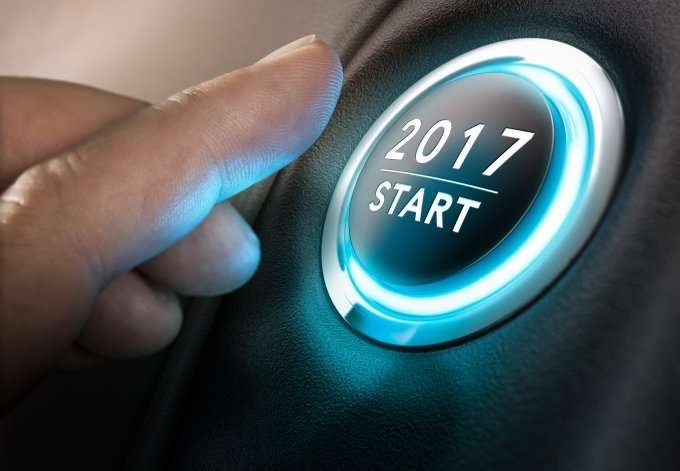 2017 and start button