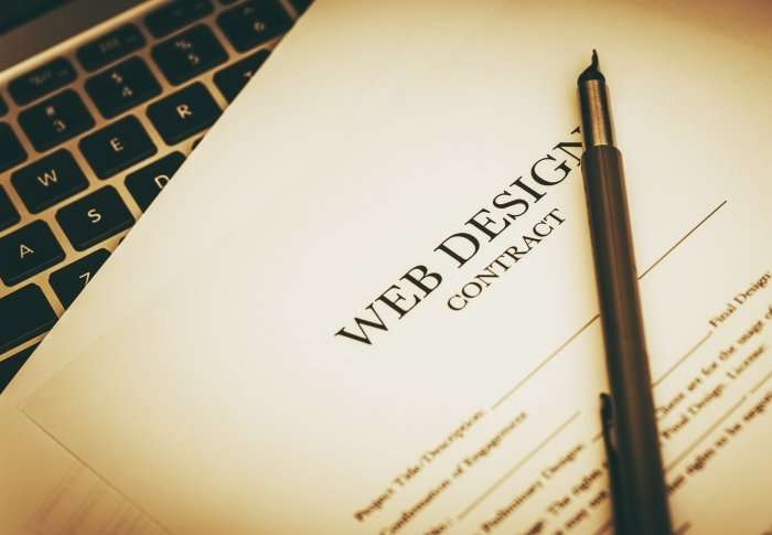Web design Contract
