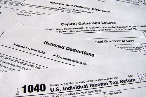 tax deductions forms