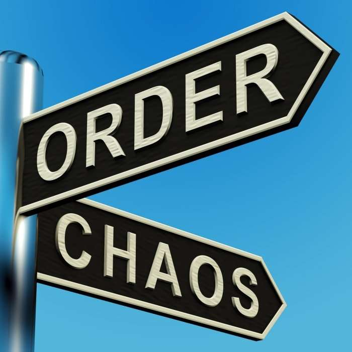 Order or Chaos street signs