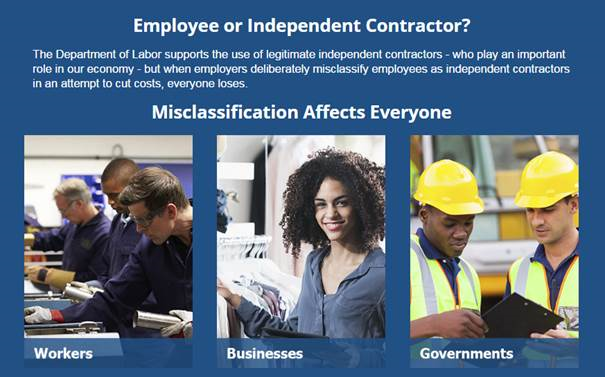 Employee or Independent Contractor?