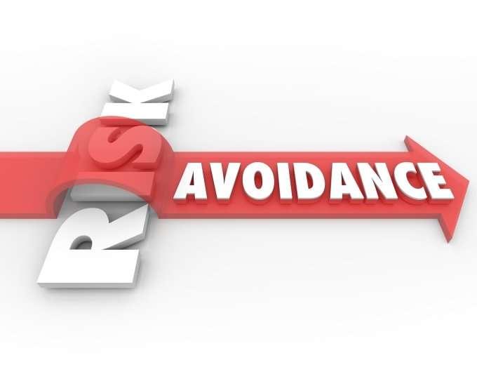 Arrow - risk avoidance