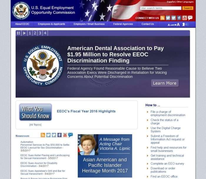eeoc home page
