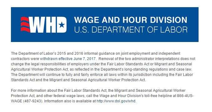DOL with draws guidance june 7